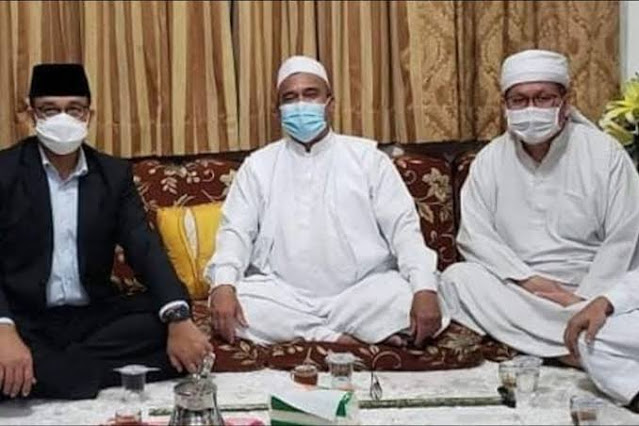 Anies Diapresiasi Doni karena Jatuhi Sanksi Rp 50 Juta ke Habib Rizieq