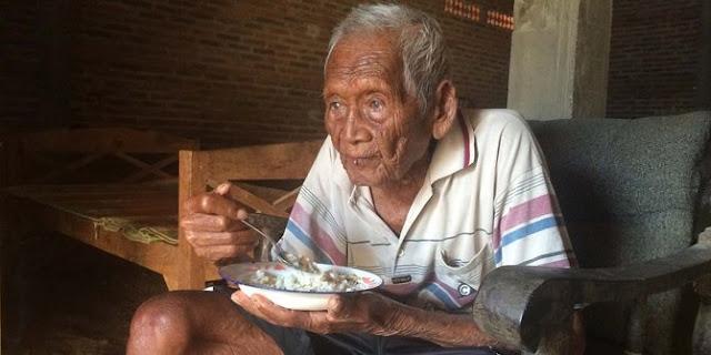 Mbah Gotho, Manusia Tertua Di Dunia Meninggal