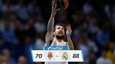 Valencia Basket 70-88 Real Madrid : Tercercuartismo