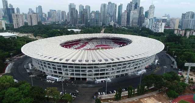 Stadion Gelora Bung Karno Pernah Beberapa Kali Berganti Nama