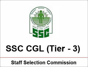 SSC CGL TIER III