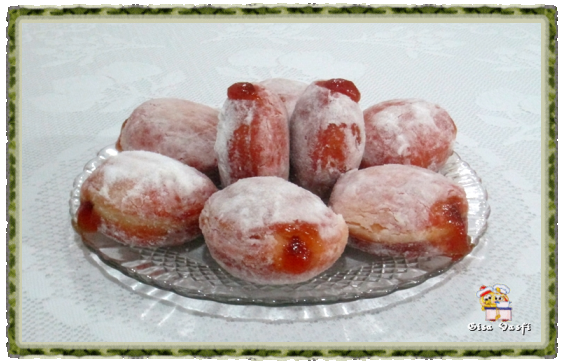 Donuts com geleia 1