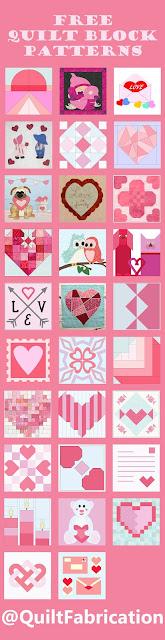 quilt block mania jan 2021 romance quilt blocks