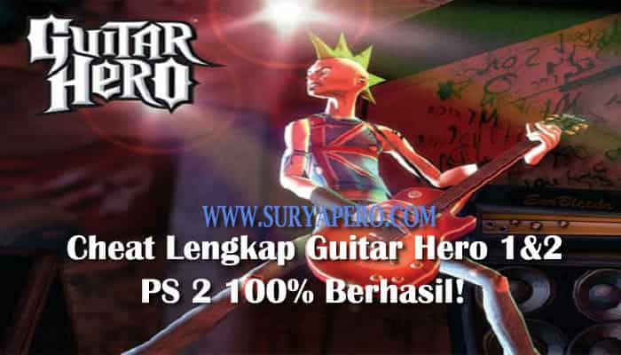 kode cheat guitar hero
