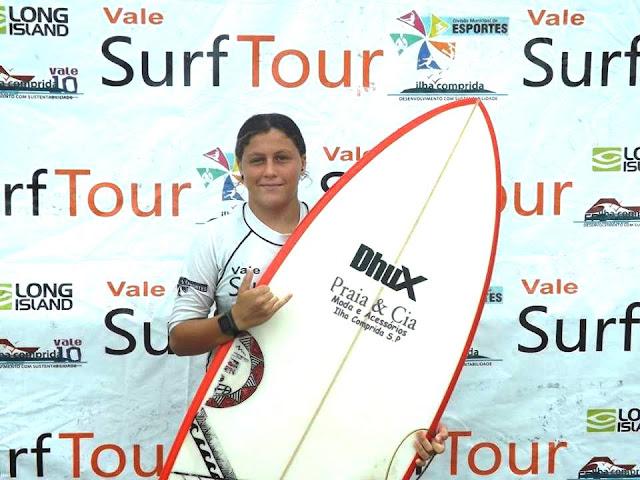 Ilha Comprida terá representantes nos circuitos paulista e brasileiro de surf amador deste ano