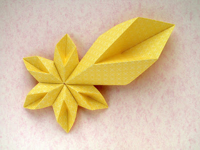 Origami, 6 moduli: Star of Bethlehem by Francesco Guarnieri