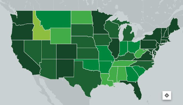 state map vaccine rates