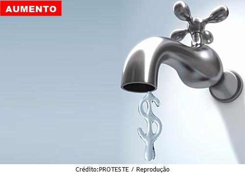 Tarifa de água vai subir para 5,7% em janeiro de 2018 no Ceará
