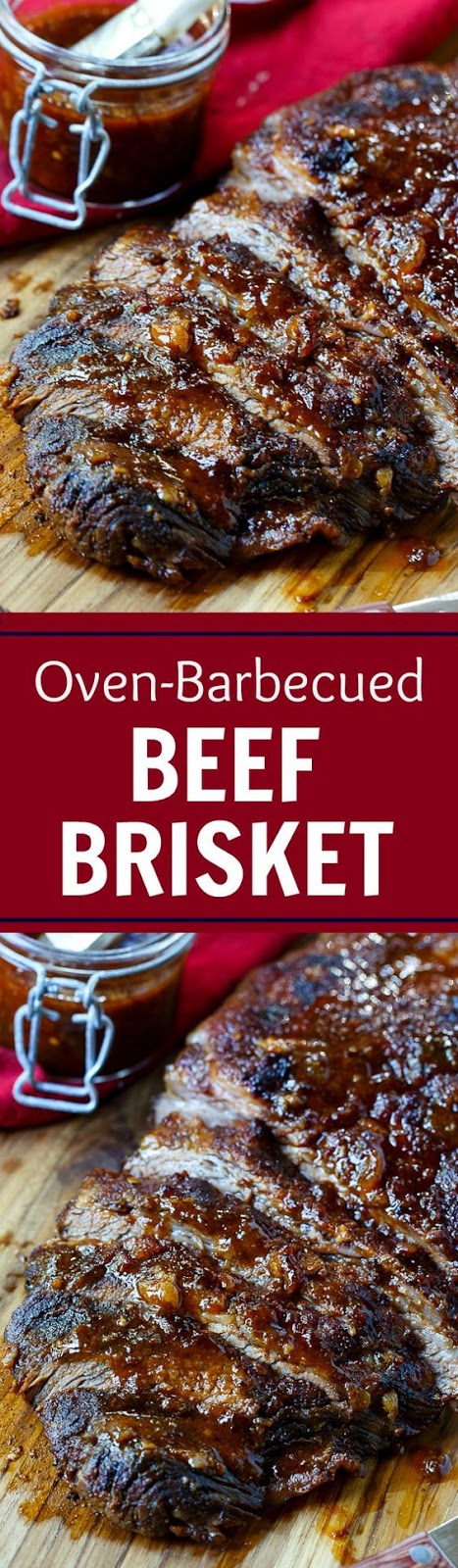This is a recipe from Cook's Illustrated and it makes THE most flavorful brisket.  It is one of the most scrumptious pieces of meat I have ever tasted and I think it has the potential to create quite a few brisket lovers.