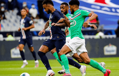 ملخص وهدف فوز باريس سان جيرمان علي سانت ايتيان (1-0) كاس فرنسا