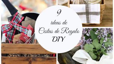 9 cestas de regalo para Navidad (o cuando quieras) originales y DIY