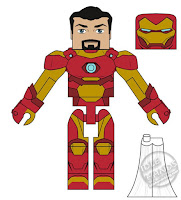 Diamond Select Walgreens Marvel Minimates Iron Man