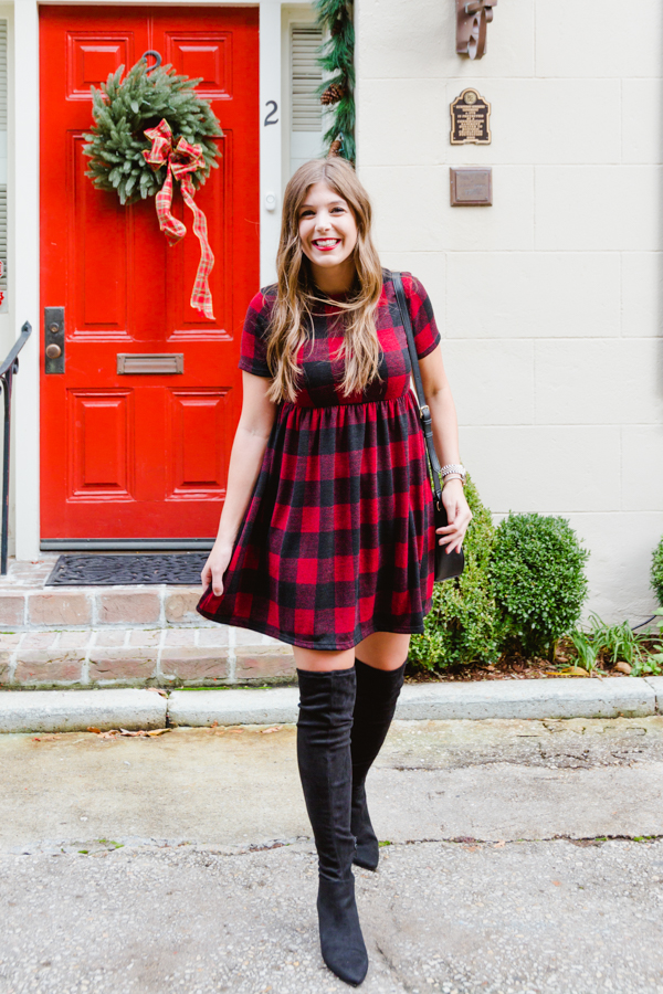 My Favorite Print For The Holidays - Buffalo Plaid | Chasing Cinderella