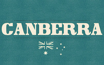 canberra is a solid bold serif font