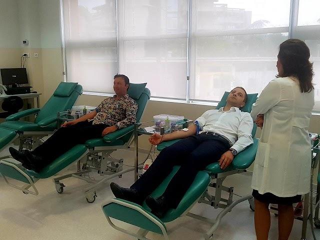 Damir Šehović učestvovao u akciji davanja krvi