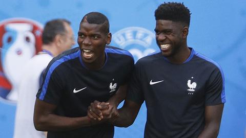 Samuel Umtiti ban đầu không phải là cái tên được HLV Didier Deschamps