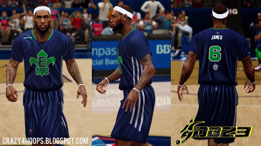 6d3c13a54 NBA 2k14 2014 All-Star Complete Patch with 2014 All-Star Roster