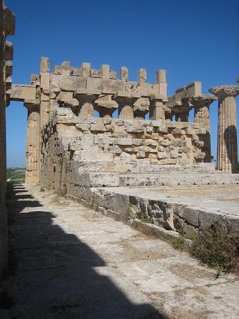 Selinunte - Interior del Templo E