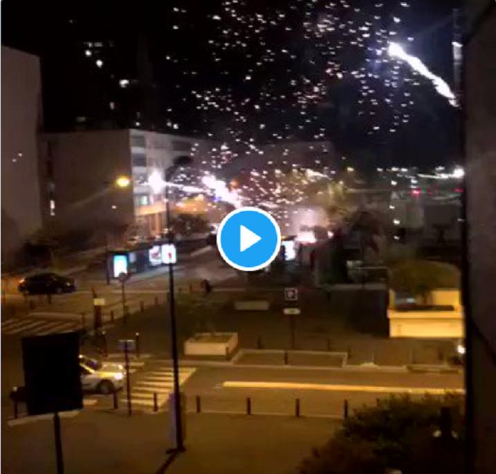 VIDÉO : Le commissariat de Champigny-sur-Marne attaqué dans la nuit par une quarantaine d'individus