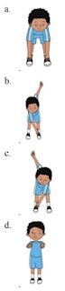 gambar pilihan jawaban membungkukkan badan kelas 3