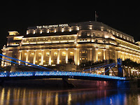 Fullerton Hotel New Year's Day 2012