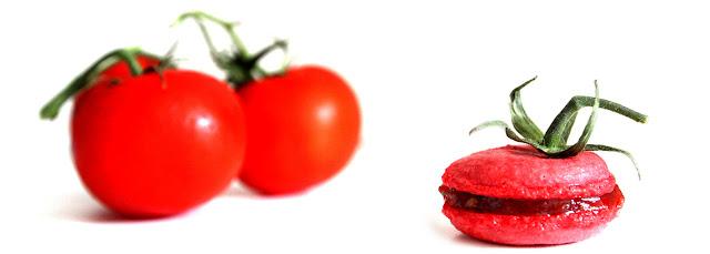 Macarons à la confiture de tomates