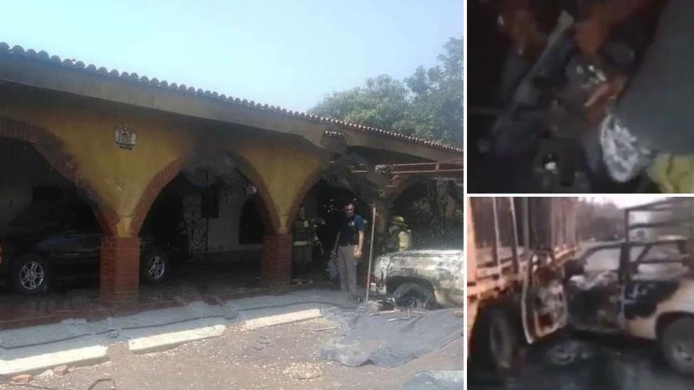 Video: Incendios, enfrentamientos, drones, una carretera destruida y dimes y diretes: la guerra en Aguililla entre el CJNG y Carteles Unidos