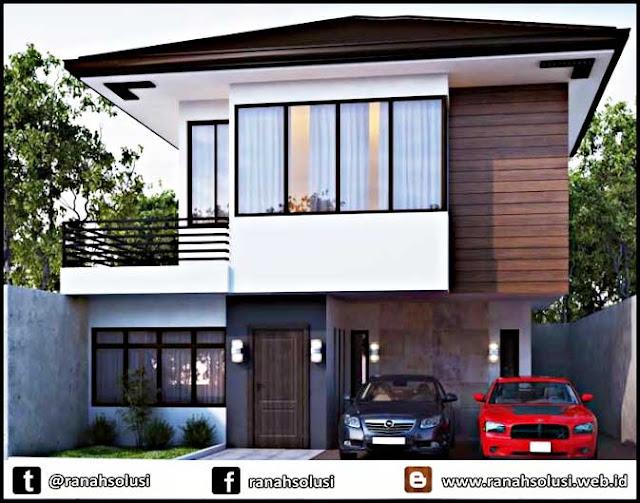 Gambar Rumah Minimalis 2 Lantai Mungil