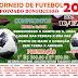 Torneio de futebol será realizado no povoado de Bonsucesso, município de Mairi-BA