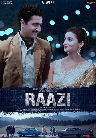 Raazi 2018 Hindi 999MB WEB-DL 720p