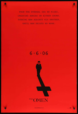 Theatrical One-Sheet for THE OMEN (2006).