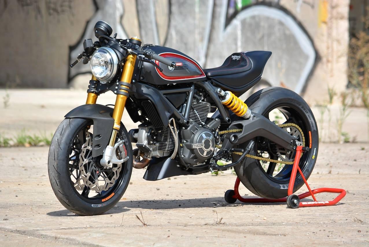 Ducati Monster Umbau Cafe Racer