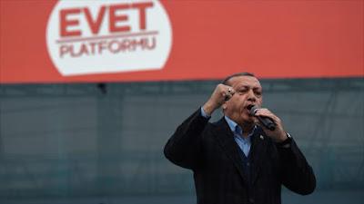 Erdogan augura colapso de Europa y llama 'locos' a sus líderes