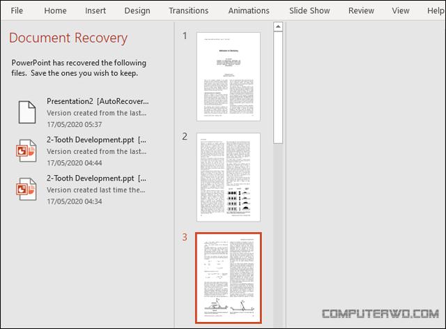 كيفية تحويل ملف PDF إلى PowerPoint 12