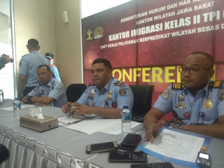 Terapis Asal Thailand Diamankan Kantor Imigrasi Kelas II TPI  Cirebon