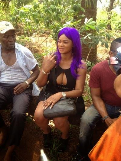 Cameroonian Actress Brunhilda Njua Exposes Boobs On -3725