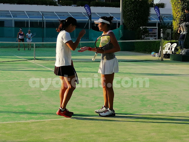 Aldila Sutjiadi Melaju ke Semifinal Gosen Cup Swingbeach Int'l Ladies Open