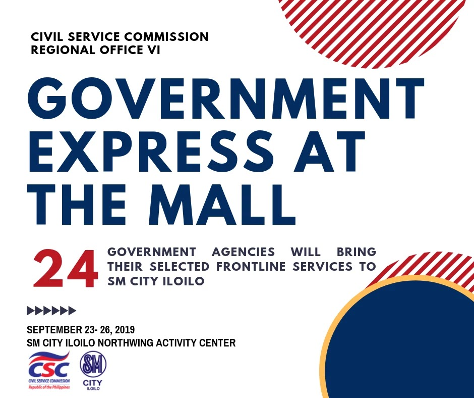 Government Express at the Mall