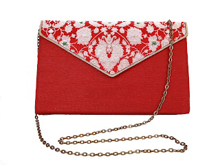 Silk Brocade Sling Bag MRP rs. 1190
