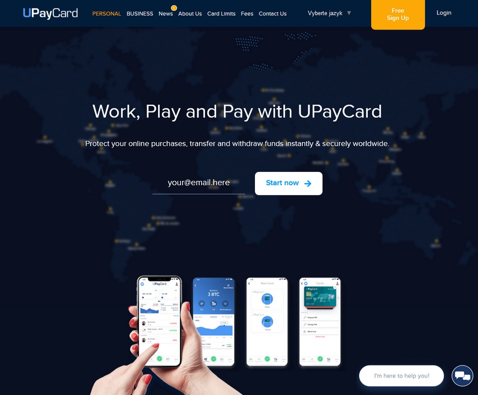 UPayCard bookmakers