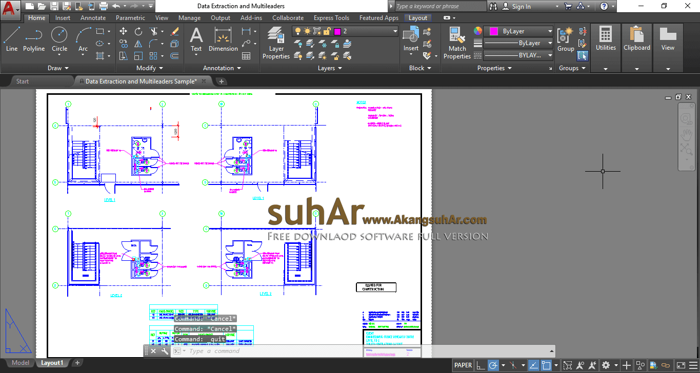 Gratis Download Autodesk AutoCad 2019 Full Crack Terbaru, Autodesk AutoCad 2019 License Key