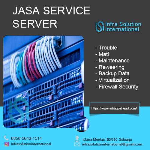 Jasa Service Server Samarinda
