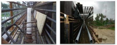 Pekerjaan ducting steel dan tendon