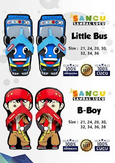 Sancu Little bus dan B-boy