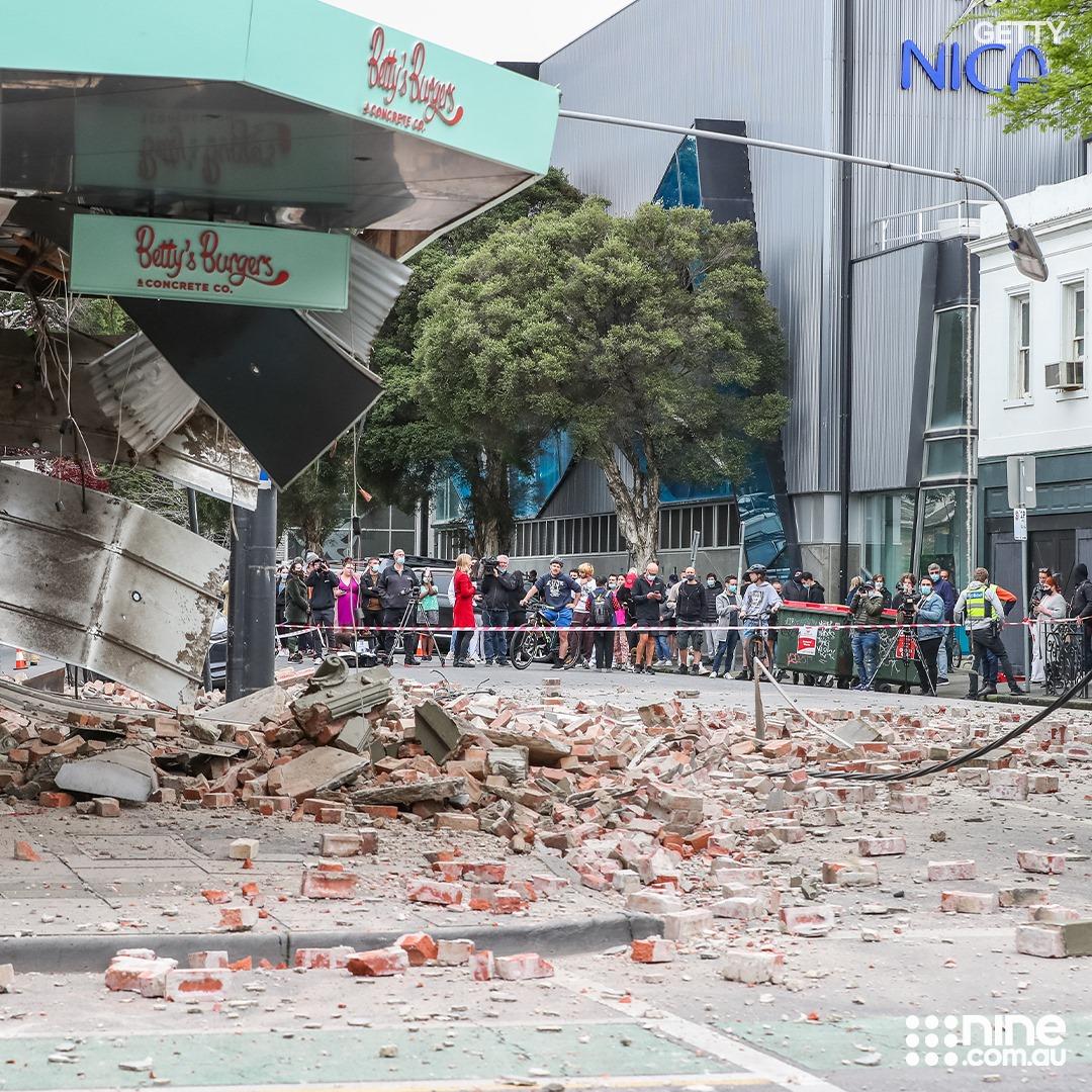 Australia Melbourne Earthquake