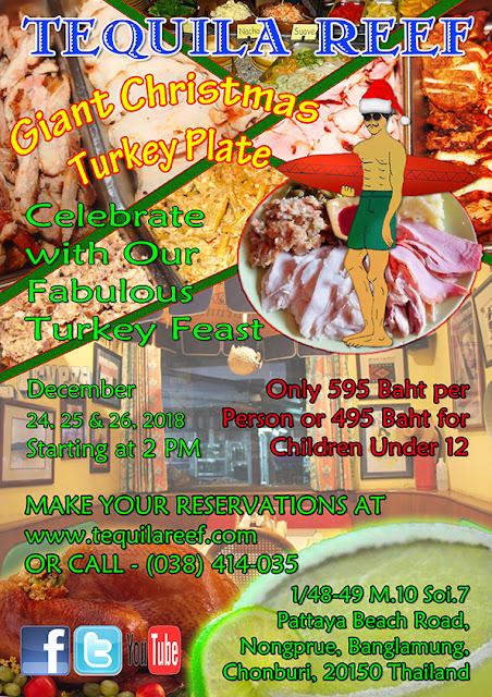 Pattaya Christmas Turkey Platter Special