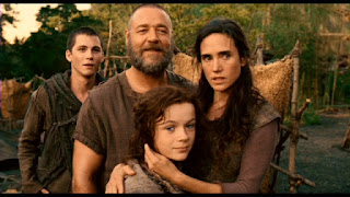 Logan Lerman, Russell Crowe, Jennifer Connelly, Leo McHugh Carroll