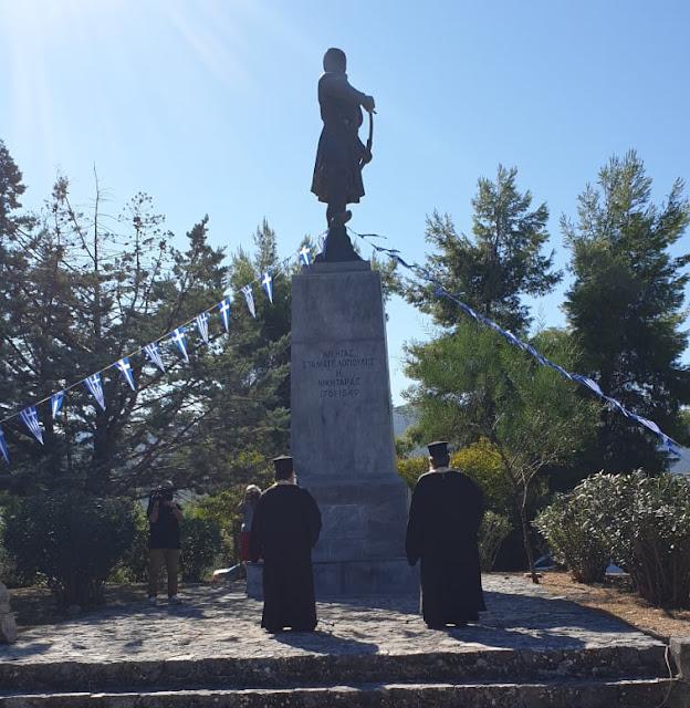 Τίμησαν τον Νικηταρά στο Χιλιομόδι Κορινθίας