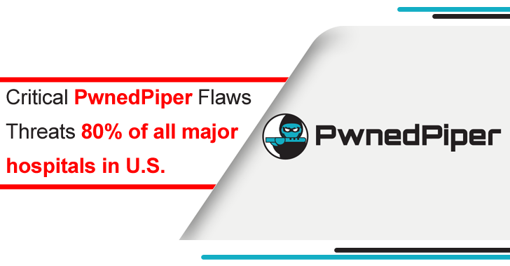PwnedPiper- 9 Severe Bugs in Critical Infrastructure Threats 80% of All Major Hospitals in U.S.