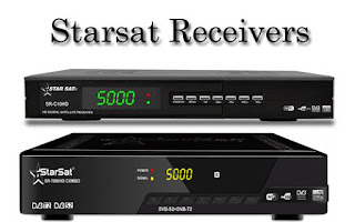 All Starsat Receivers Sony Network PowerVU Key Software Update 2018